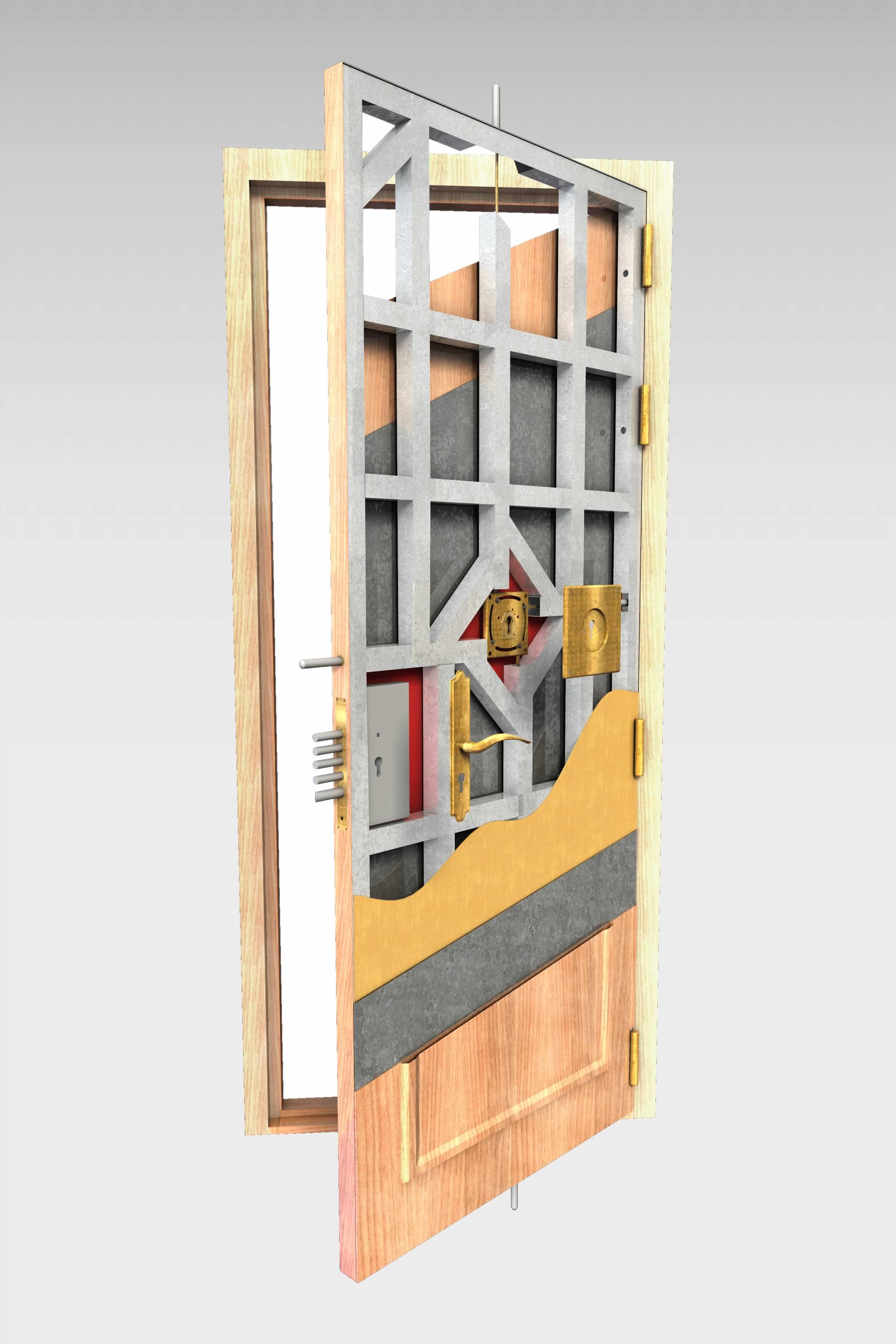 Cuanto cuesta una puerta acorazada trendy perfect reparar for Cuanto vale una puerta de madera