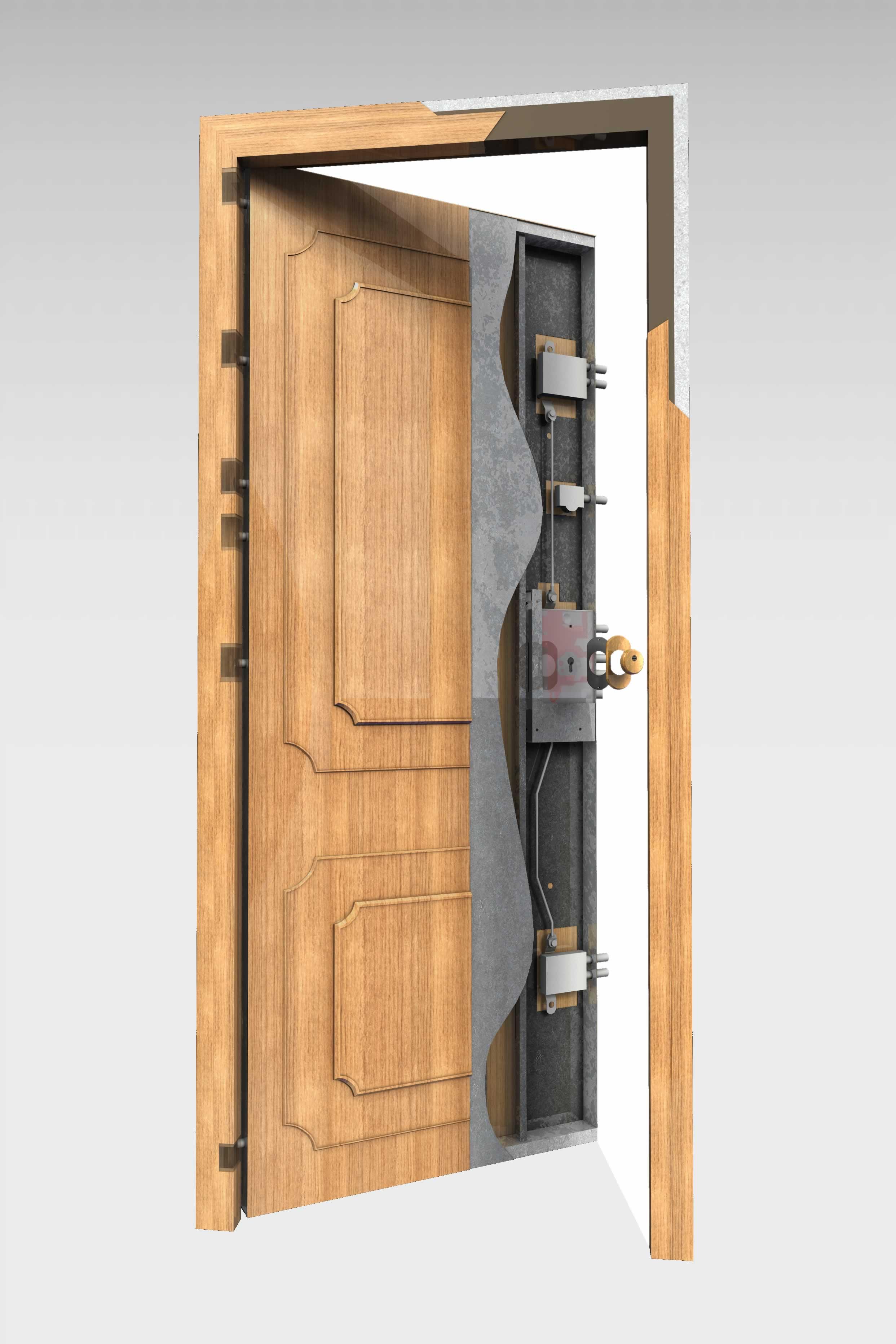 Puerta acorazada 300 domo roconsa for Puertas blindadas