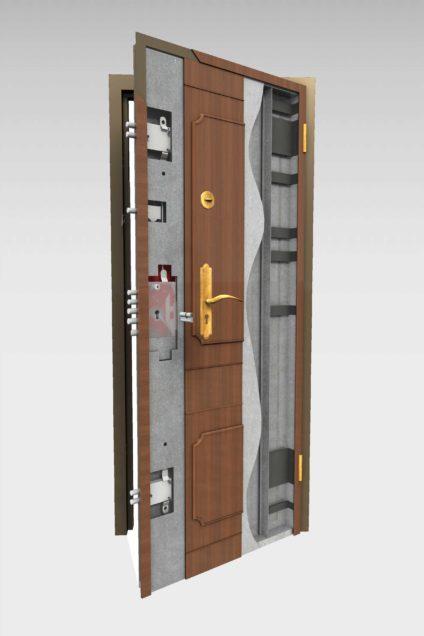 Puerta acorazada 320 roconsa - Puerta acorazada madrid ...