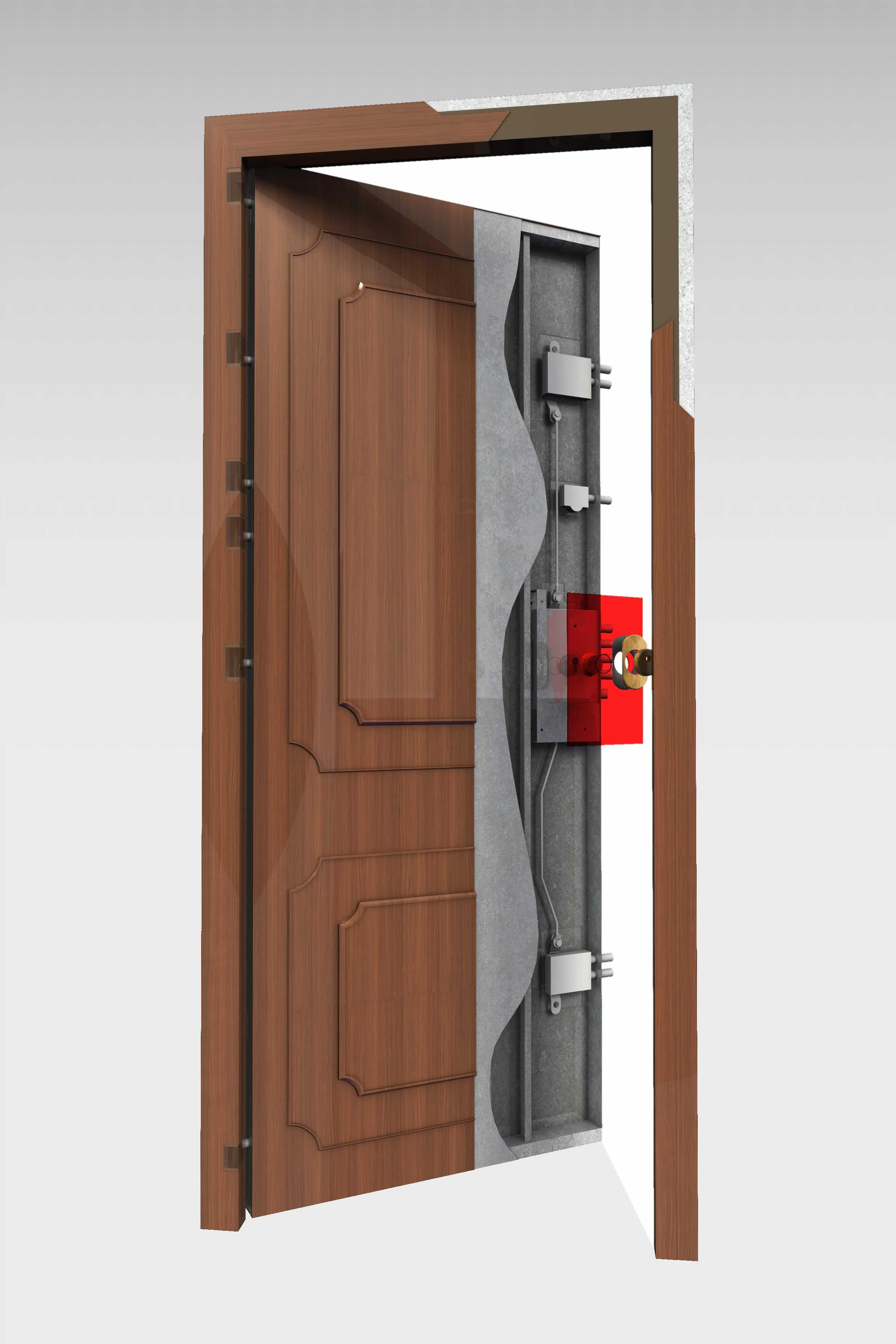 Puerta acorazada 310 roconsa for Precio de puertas para casa