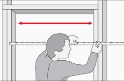 Cómo se mide una puerta?