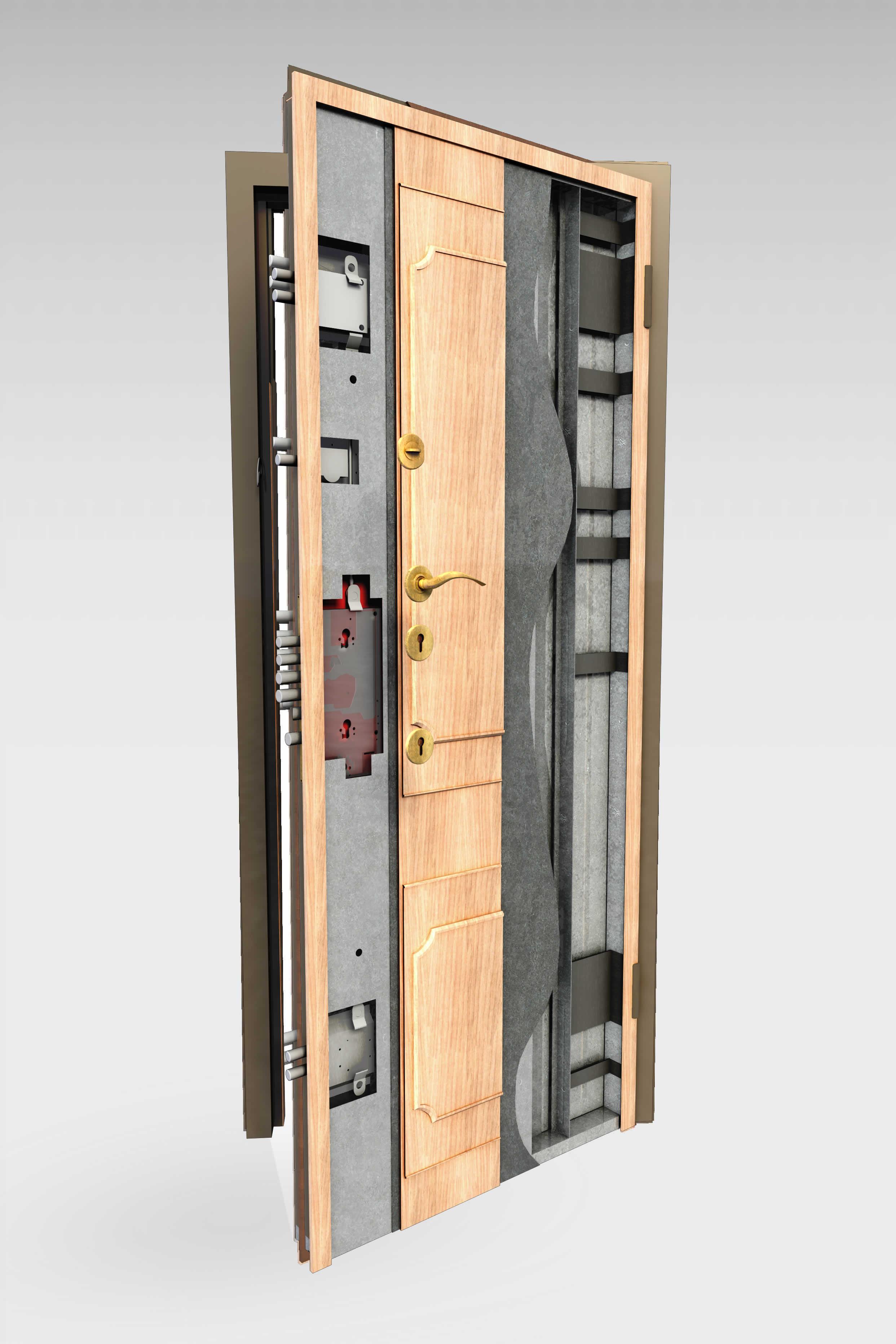 puerta acorazada 350 roconsa