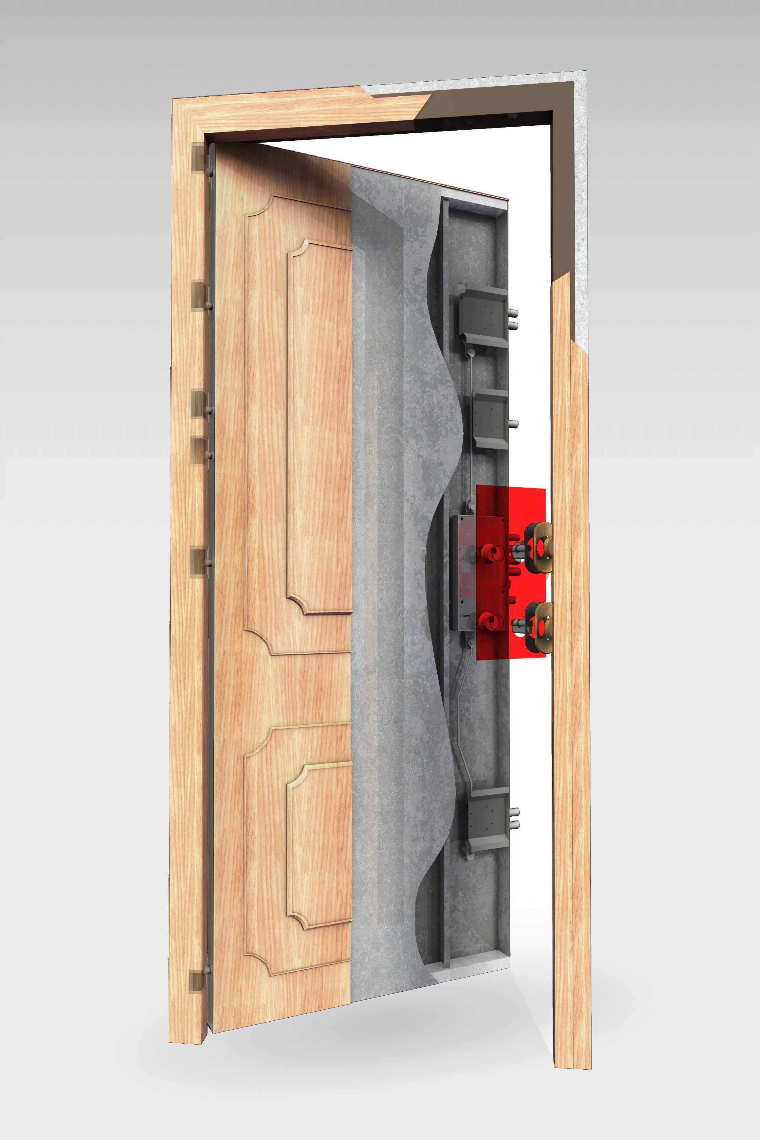 Puerta acorazada 350 roconsa - Puertas norma catalogo ...