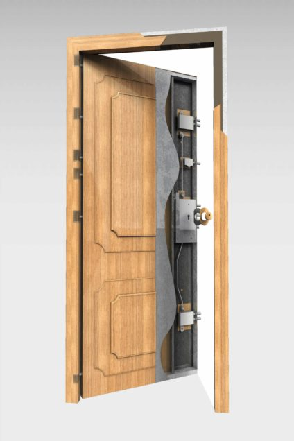 Puerta acorazada serie Técnica mod. 200