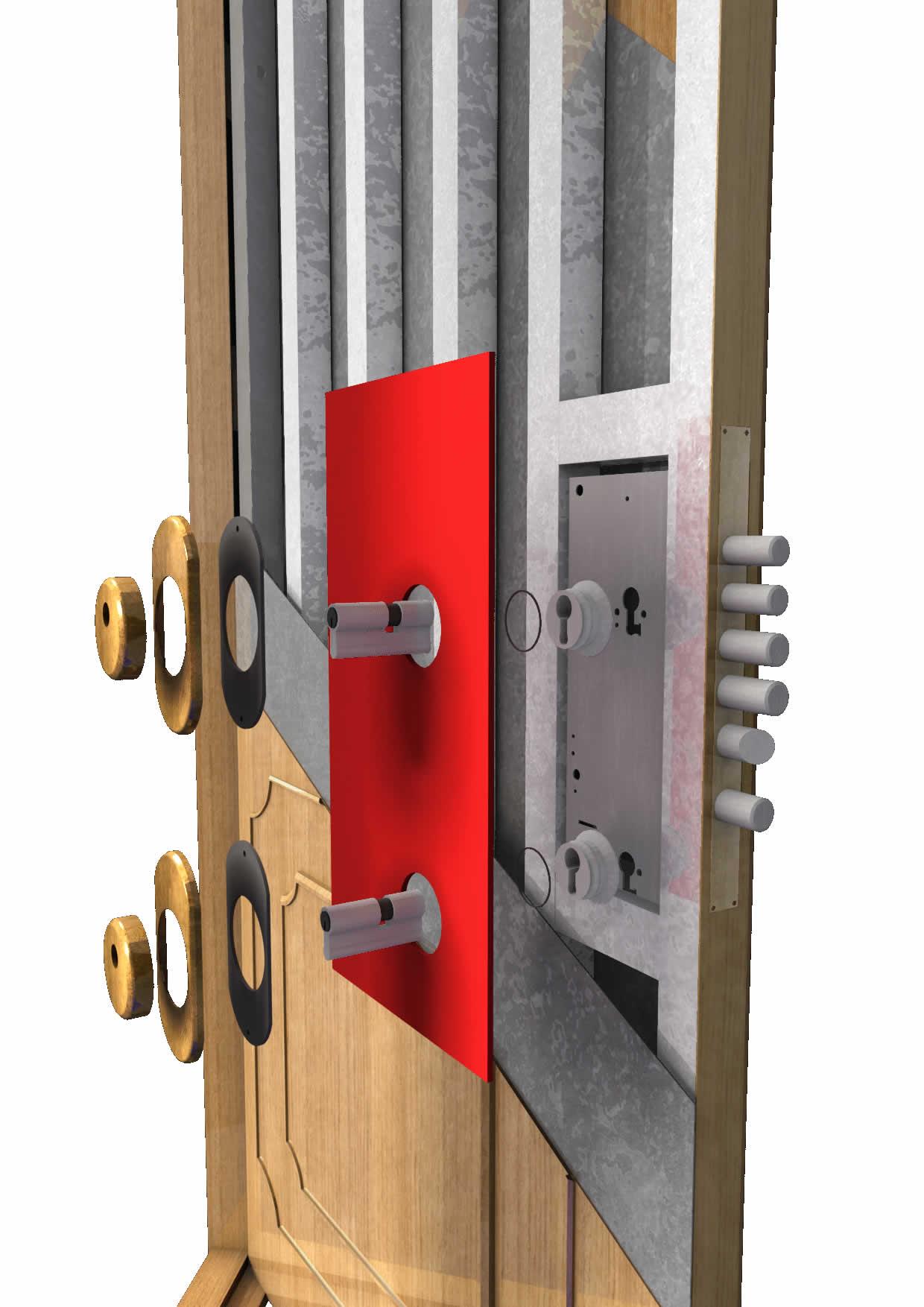 Cerraduras de seguridad para puertas en panama