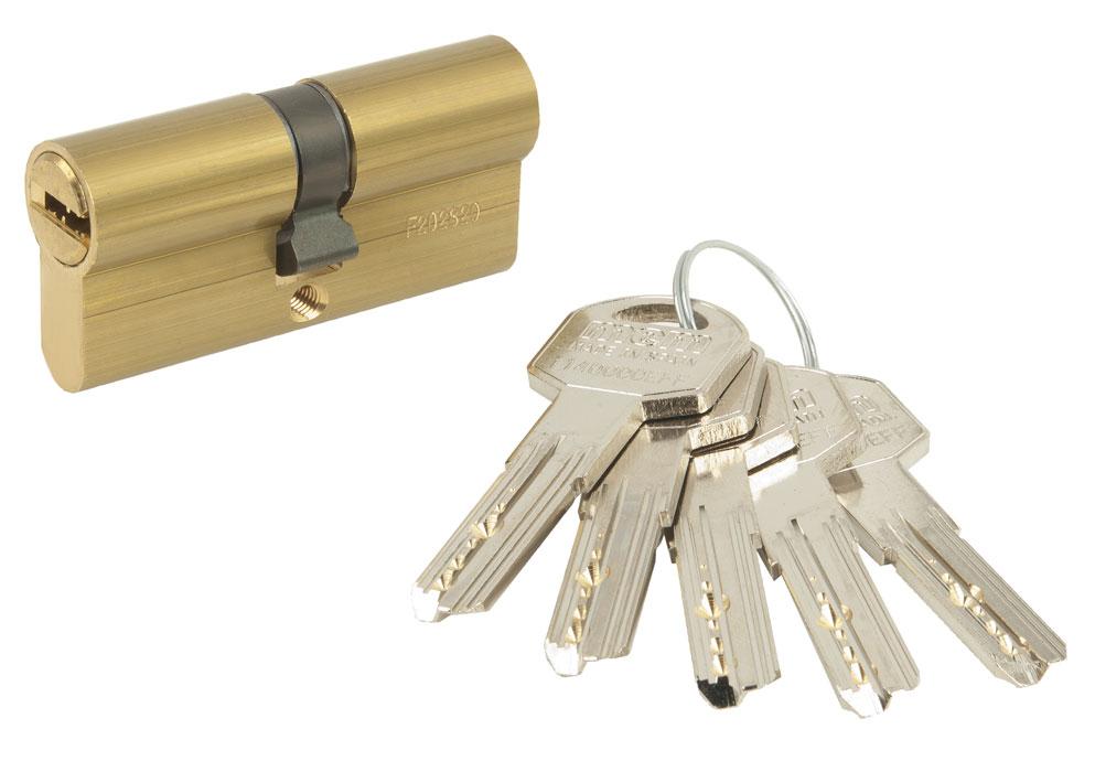 Bombillo ISEO 1 llave de obra + 4 llaves definitivas