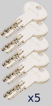 ISEO R7 5 llaves