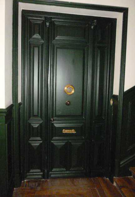 Decoraci n exterior e interior especial en puertas acorazadas estructurales roconsa Decoracion puertas interior