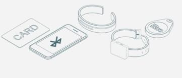 Opciones de cerradura electrónica ISEO X1r Smart