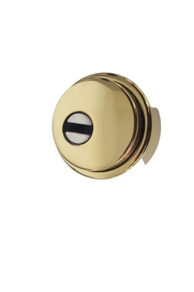 Escudo Gama Media Disec o similar con embellecedor y lenteja de seguridad
