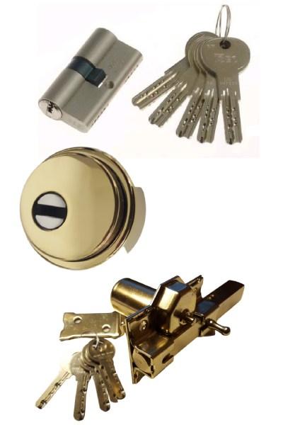 Iseo R7 + Escudo GM con embellecedor y lenteja de seguridad + Cerrojo Antibumping LINCE o FAC